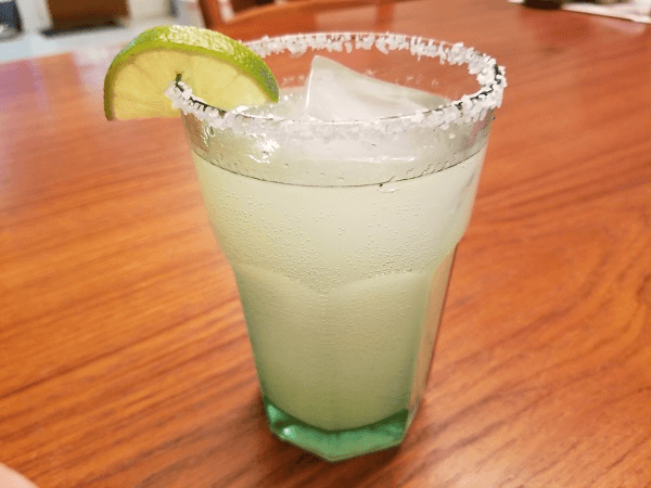 tequila, lime juice, sugar-free lemonade powdered drink mix, diet lemon-lime soda, limes, Kosher salt